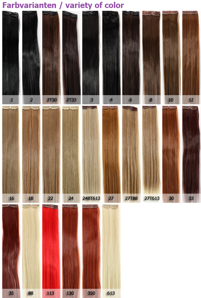 dunkle strähnen auf blonden haaren